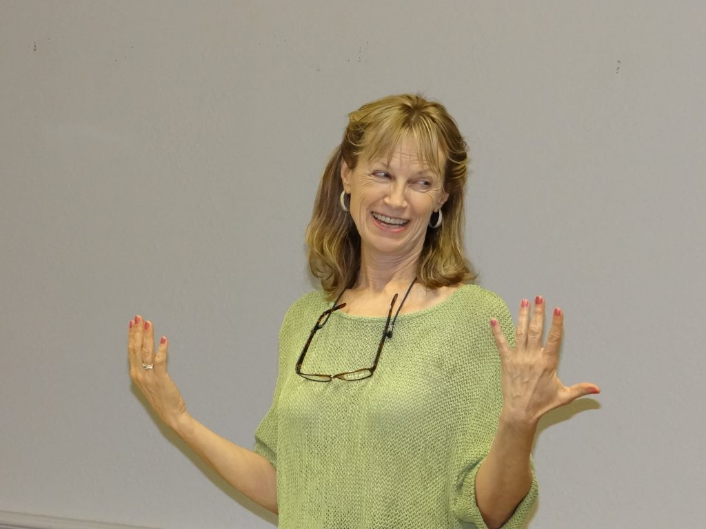 Dr Books lecture.  smiling  -   Dyslexia Treatments, ADHD Treatments, Dyslexia Symptoms, Chiropractor, Austin